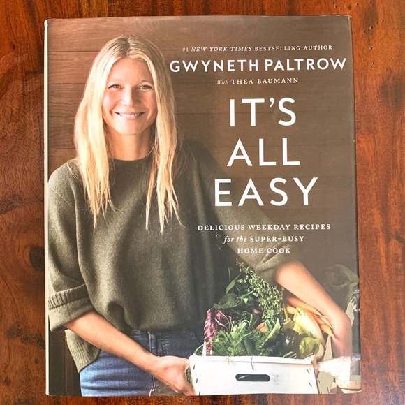 HardcoverTable Book - It's All Easy